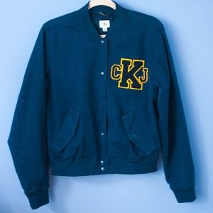 Calvin Klein Jeans Navy Bomber Jacket